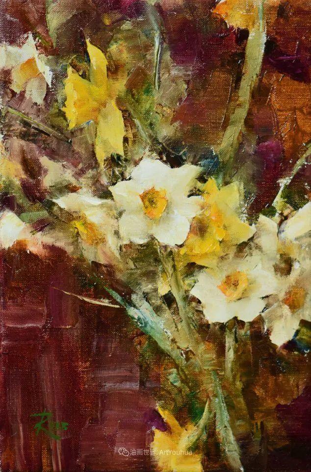 花与色的盛宴,印象派花草光影闪烁,生机盎然!插图39