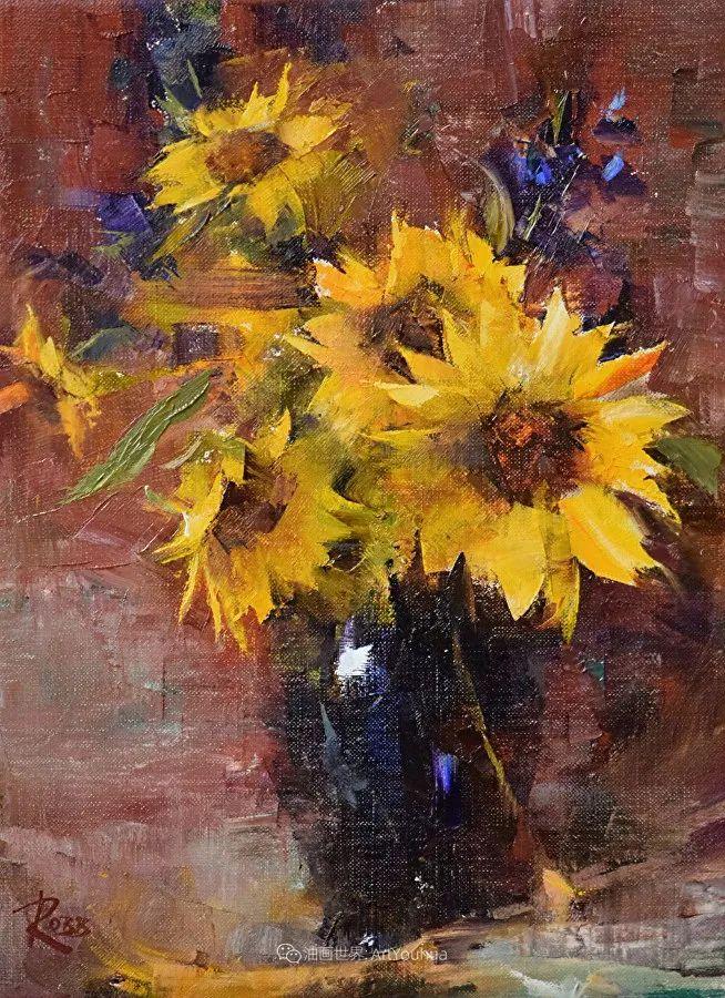 花与色的盛宴,印象派花草光影闪烁,生机盎然!插图45