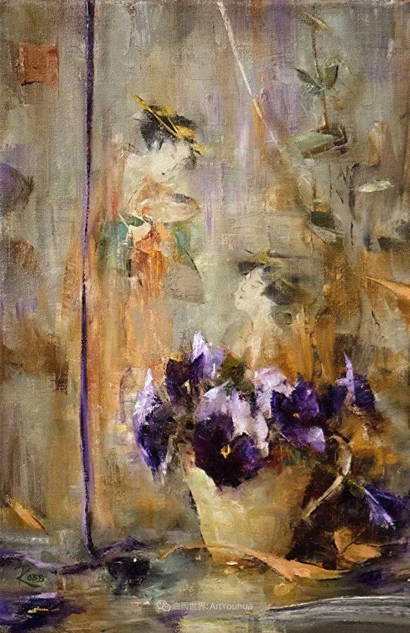 花与色的盛宴,印象派花草光影闪烁,生机盎然!插图47