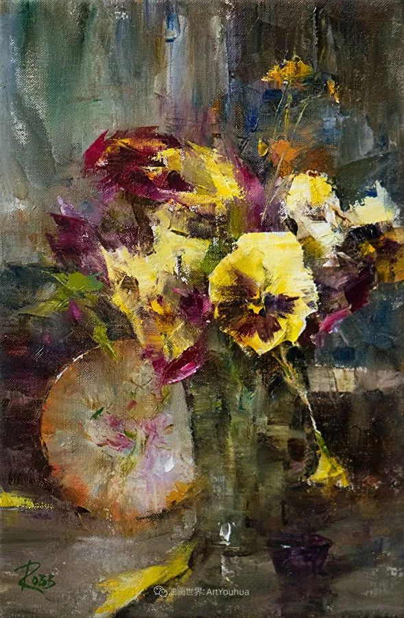 花与色的盛宴,印象派花草光影闪烁,生机盎然!插图49