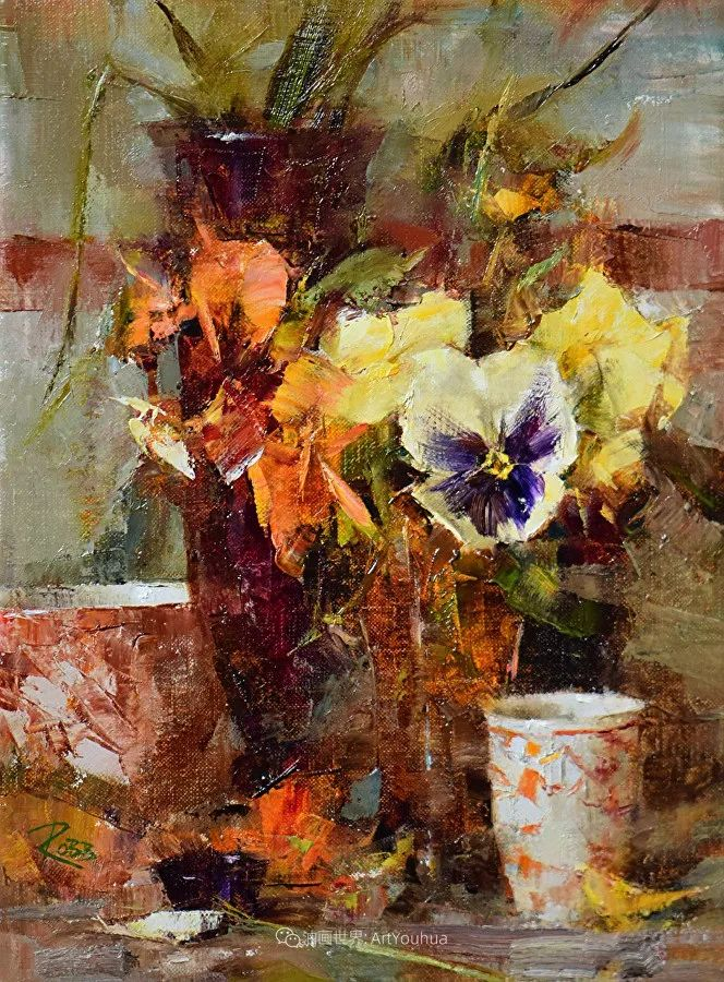花与色的盛宴,印象派花草光影闪烁,生机盎然!插图69