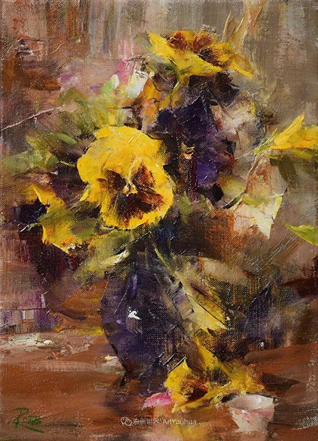 花与色的盛宴,印象派花草光影闪烁,生机盎然!插图83