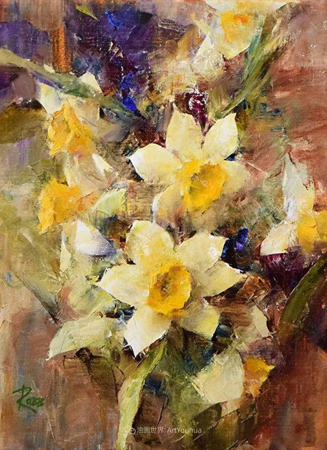 花与色的盛宴,印象派花草光影闪烁,生机盎然!插图85