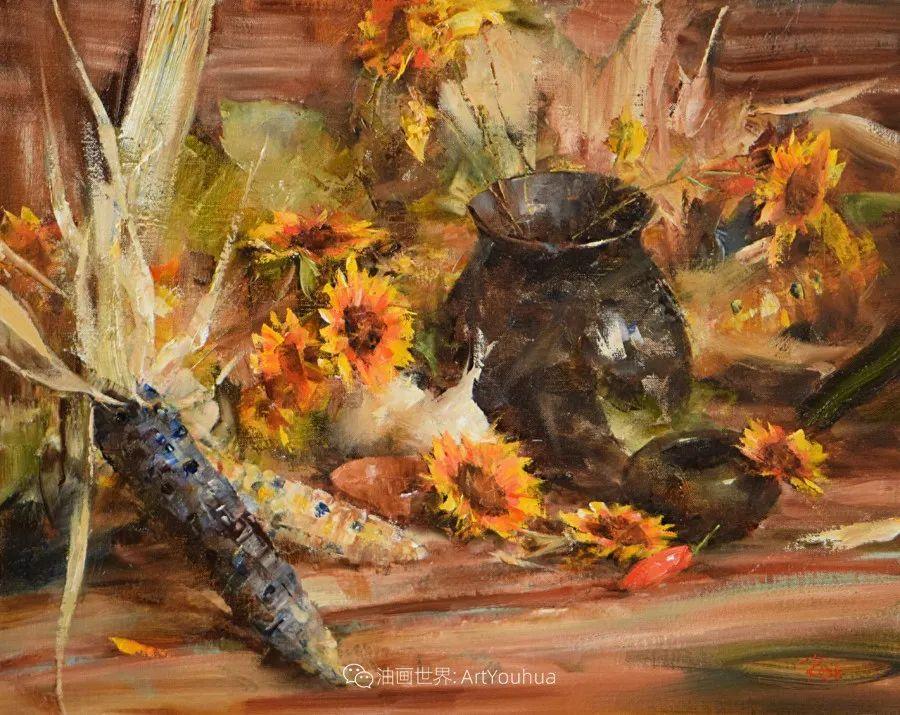 花与色的盛宴,印象派花草光影闪烁,生机盎然!插图87