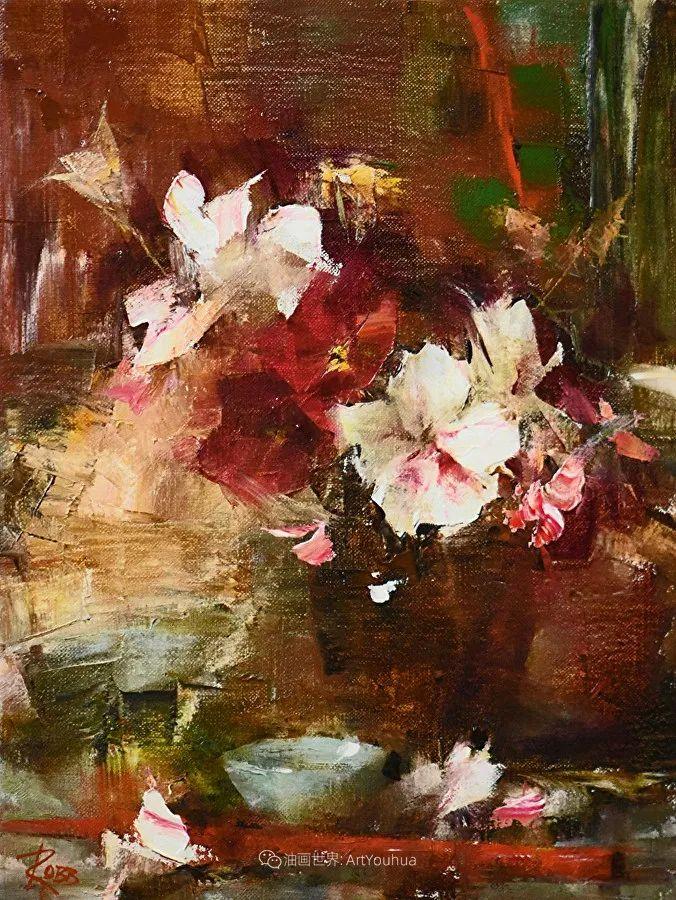 花与色的盛宴,印象派花草光影闪烁,生机盎然!插图91
