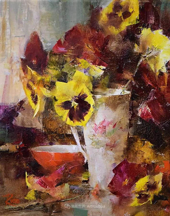 花与色的盛宴,印象派花草光影闪烁,生机盎然!插图95