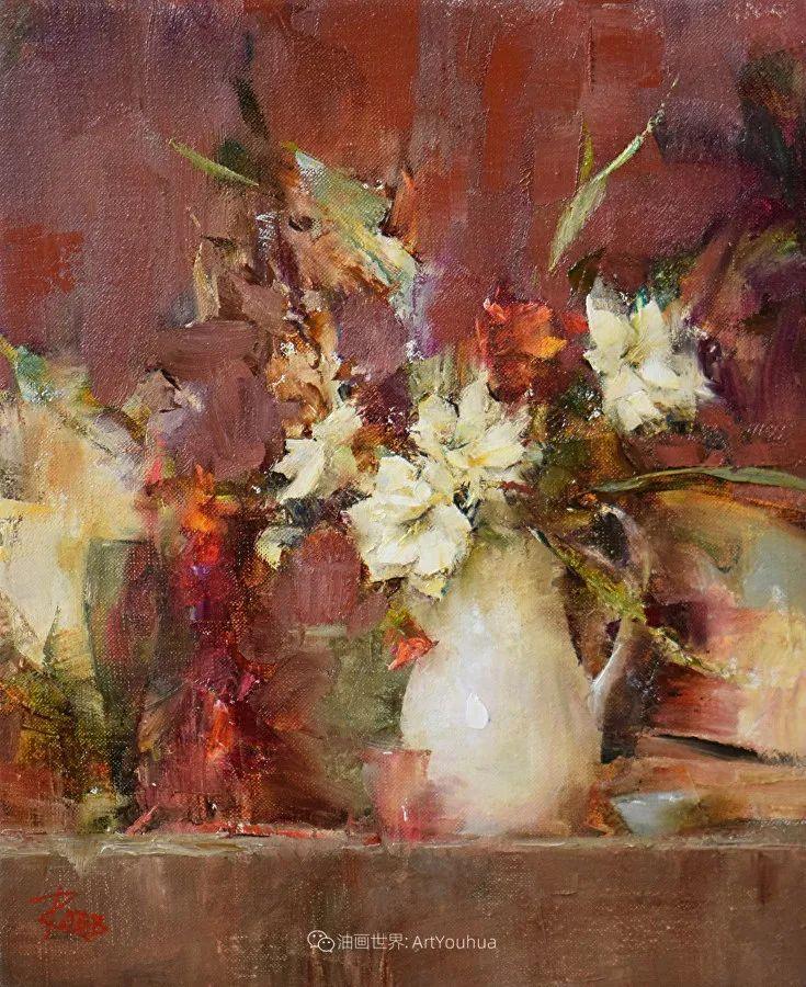 花与色的盛宴,印象派花草光影闪烁,生机盎然!插图97