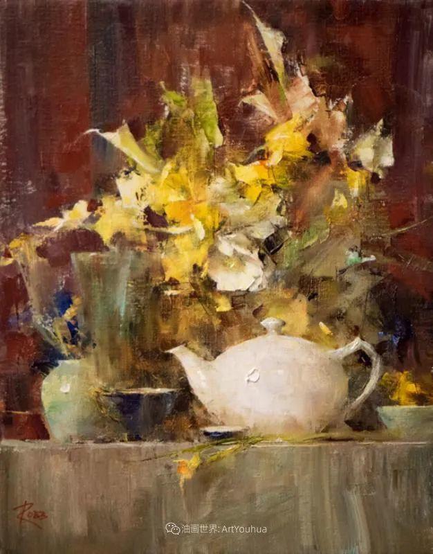 花与色的盛宴,印象派花草光影闪烁,生机盎然!插图105