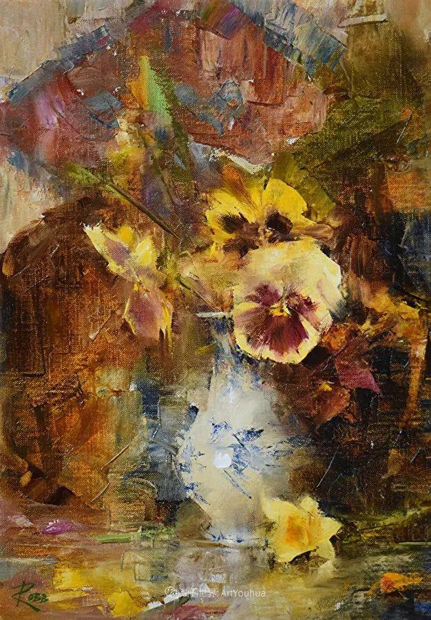 花与色的盛宴,印象派花草光影闪烁,生机盎然!插图109