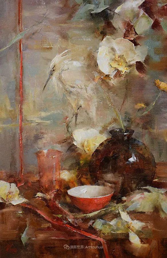 花与色的盛宴,印象派花草光影闪烁,生机盎然!插图113