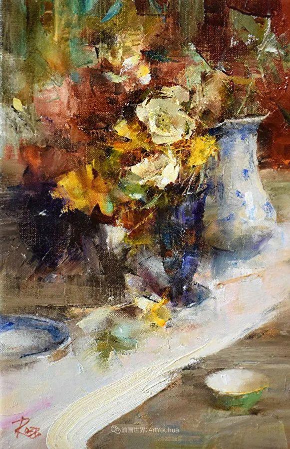 花与色的盛宴,印象派花草光影闪烁,生机盎然!插图119