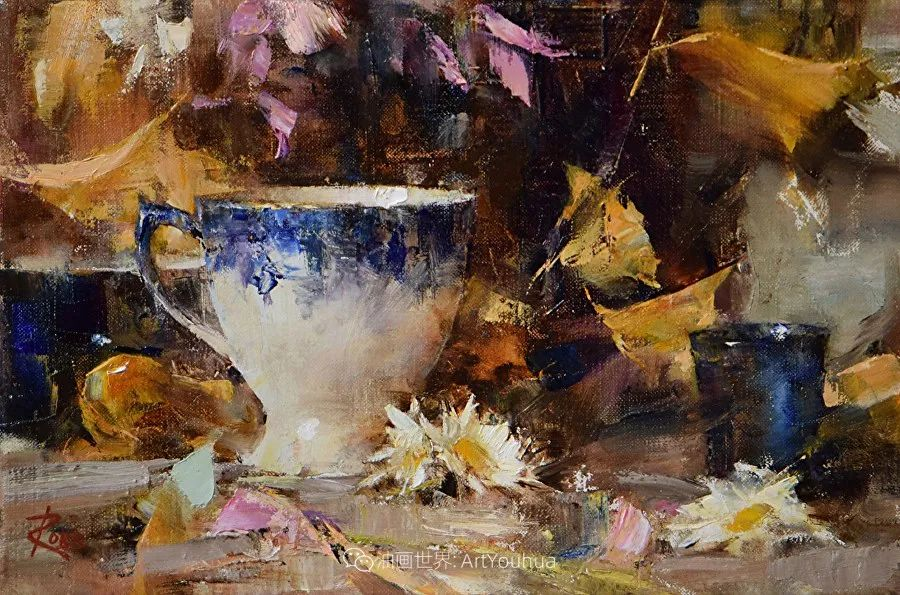 花与色的盛宴,印象派花草光影闪烁,生机盎然!插图123