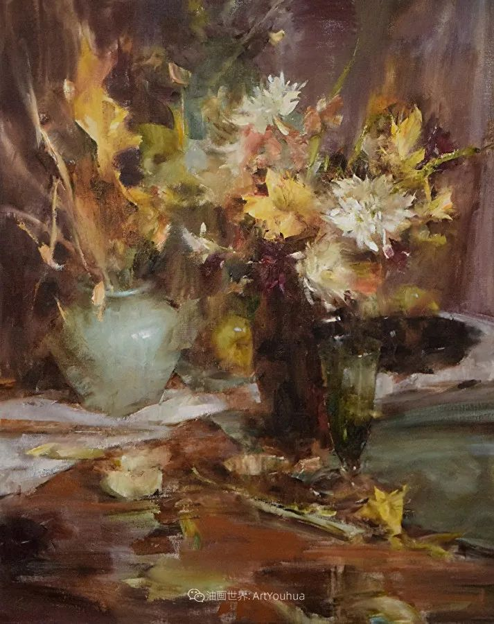 花与色的盛宴,印象派花草光影闪烁,生机盎然!插图125