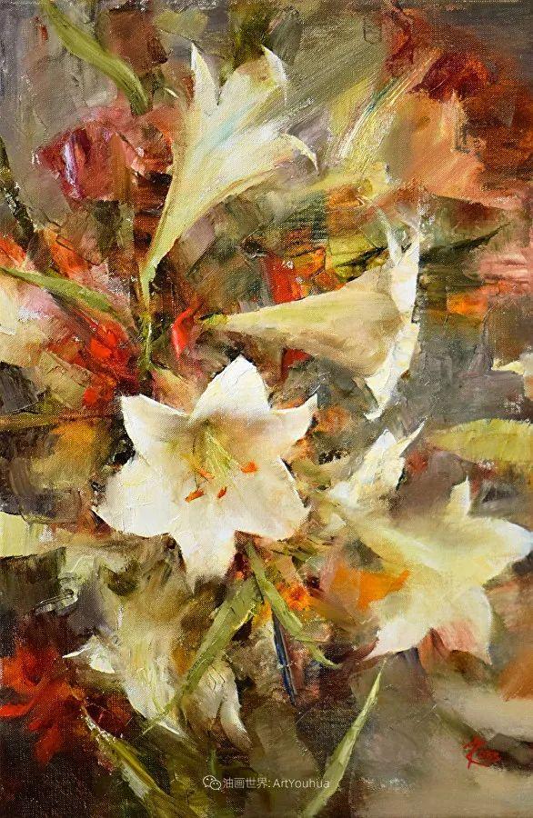 花与色的盛宴,印象派花草光影闪烁,生机盎然!插图127