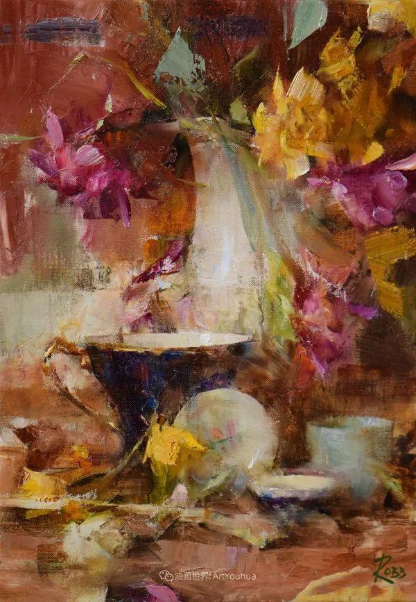 花与色的盛宴,印象派花草光影闪烁,生机盎然!插图129