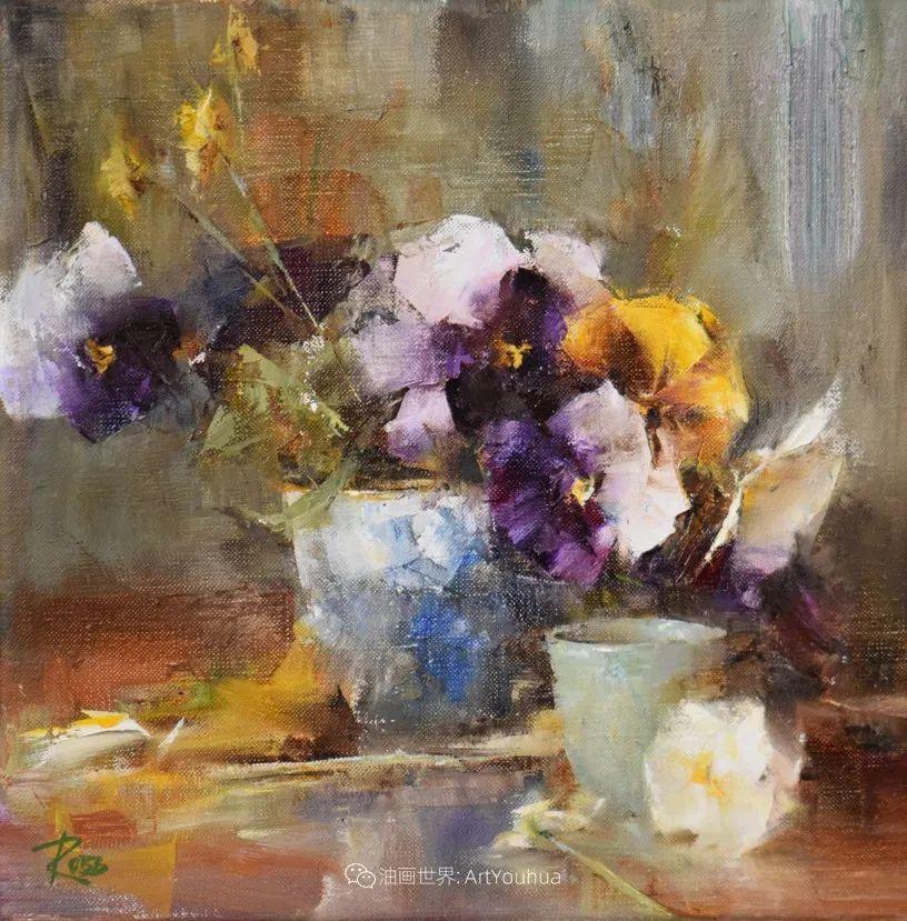 花与色的盛宴,印象派花草光影闪烁,生机盎然!插图133