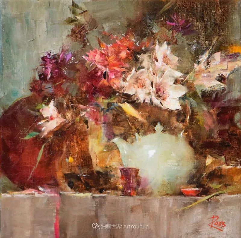 花与色的盛宴,印象派花草光影闪烁,生机盎然!插图135