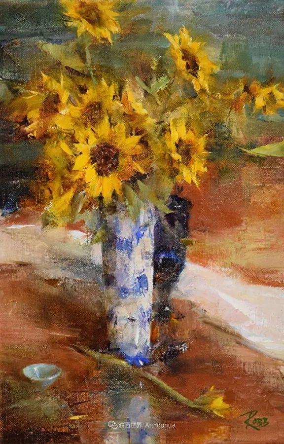 花与色的盛宴,印象派花草光影闪烁,生机盎然!插图143