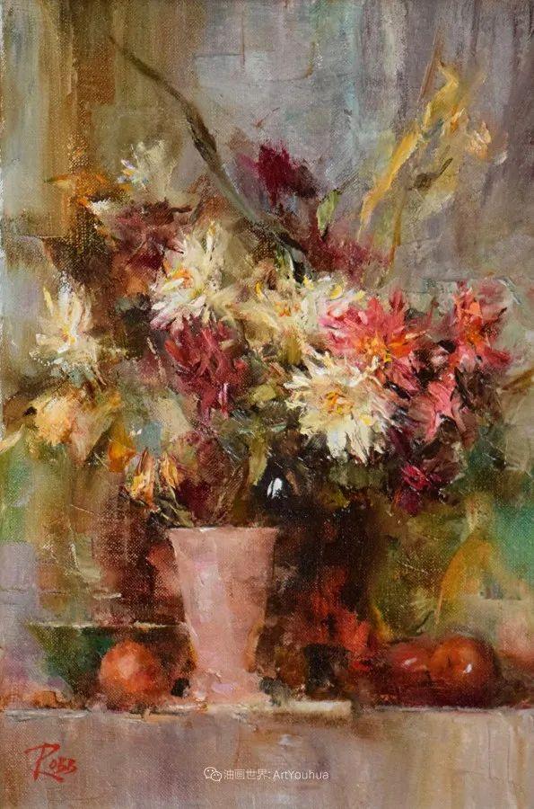 花与色的盛宴,印象派花草光影闪烁,生机盎然!插图145