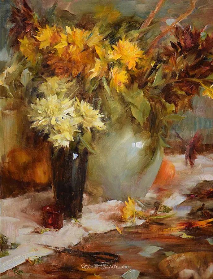花与色的盛宴,印象派花草光影闪烁,生机盎然!插图155