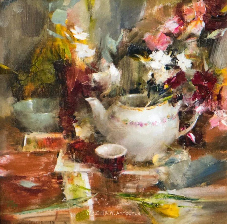 花与色的盛宴,印象派花草光影闪烁,生机盎然!插图157