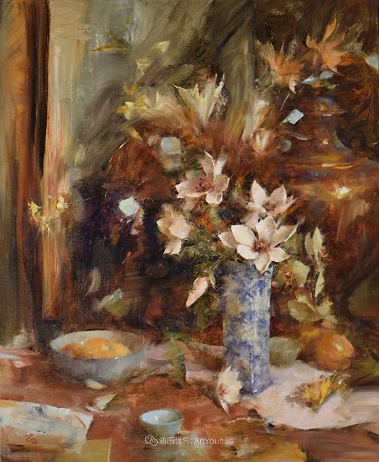 花与色的盛宴,印象派花草光影闪烁,生机盎然!插图163
