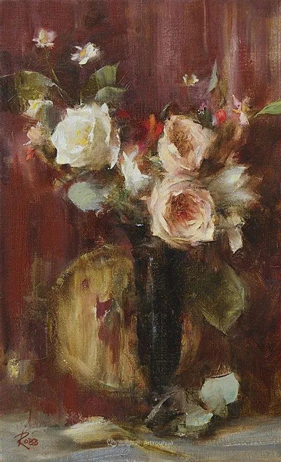 花与色的盛宴,印象派花草光影闪烁,生机盎然!插图167