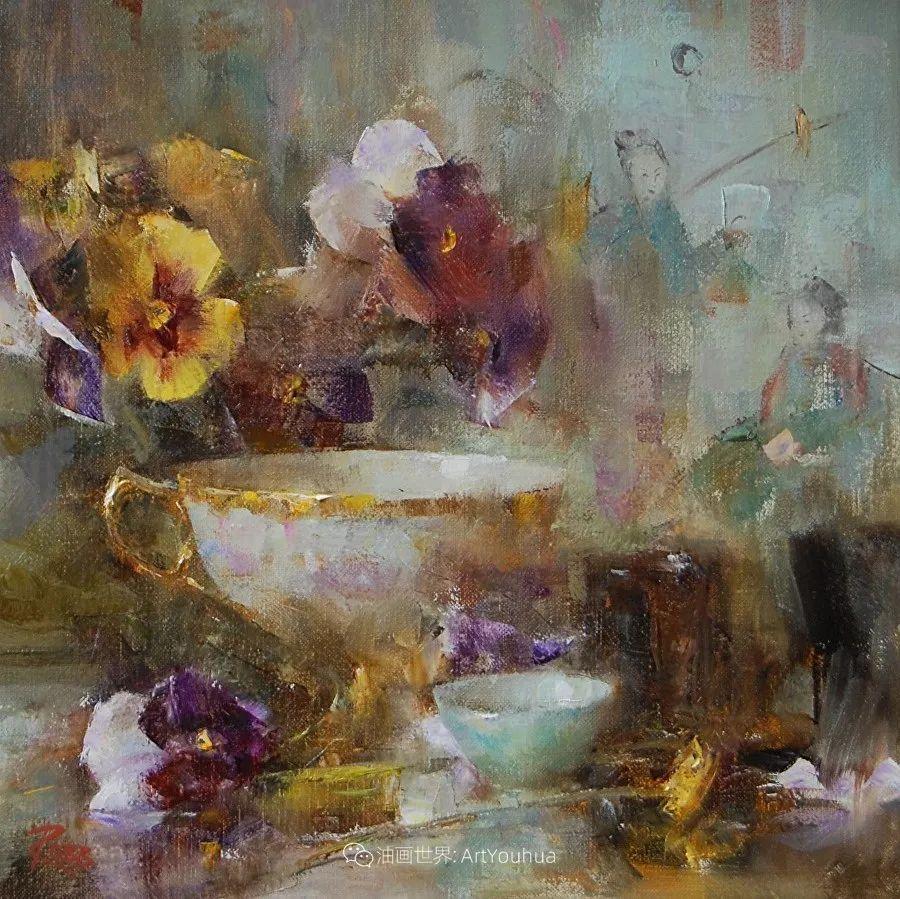 花与色的盛宴,印象派花草光影闪烁,生机盎然!插图169