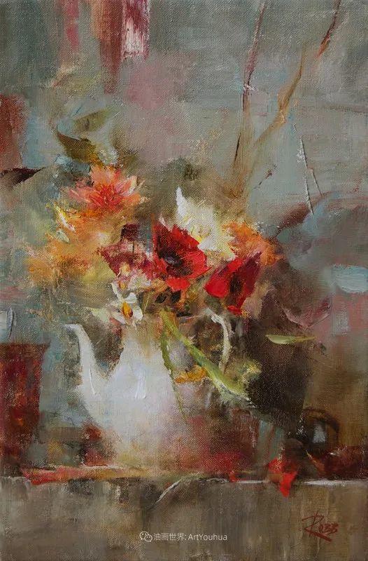 花与色的盛宴,印象派花草光影闪烁,生机盎然!插图171
