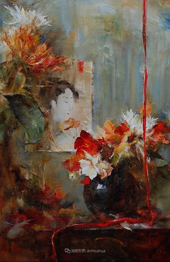 花与色的盛宴,印象派花草光影闪烁,生机盎然!插图177