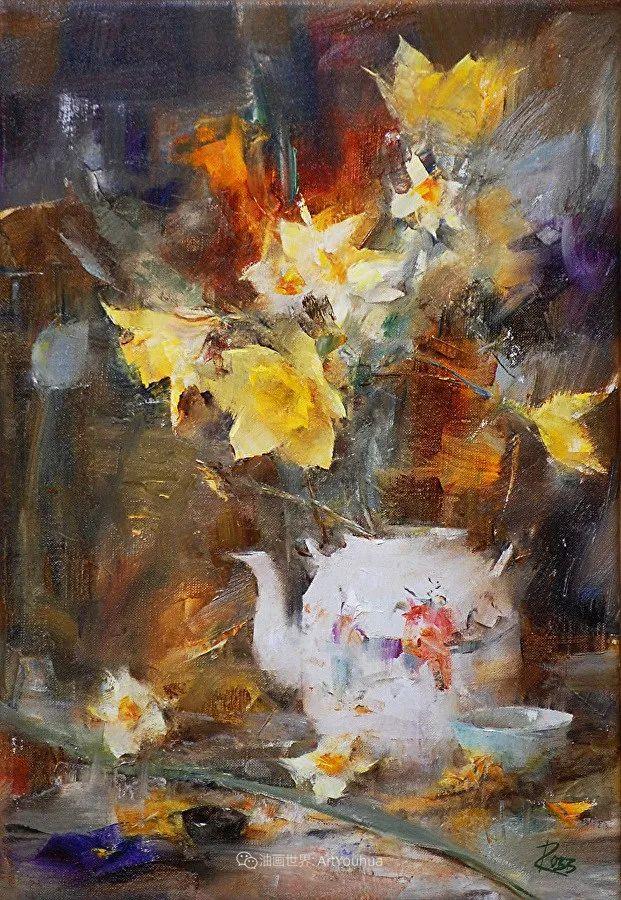 花与色的盛宴,印象派花草光影闪烁,生机盎然!插图179