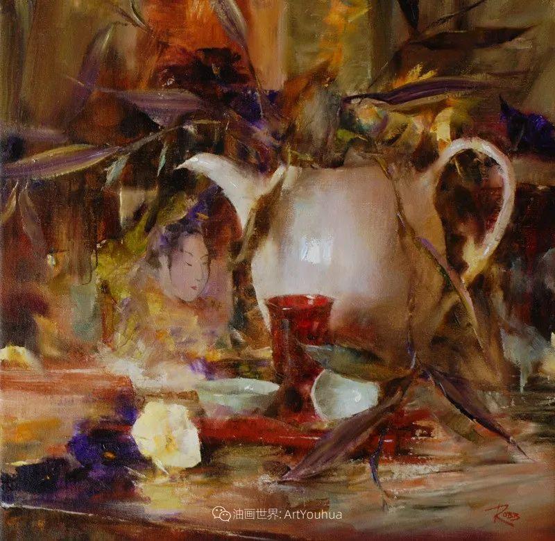 花与色的盛宴,印象派花草光影闪烁,生机盎然!插图183