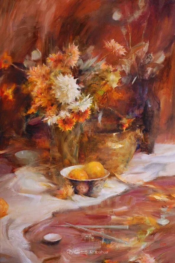 花与色的盛宴,印象派花草光影闪烁,生机盎然!插图187