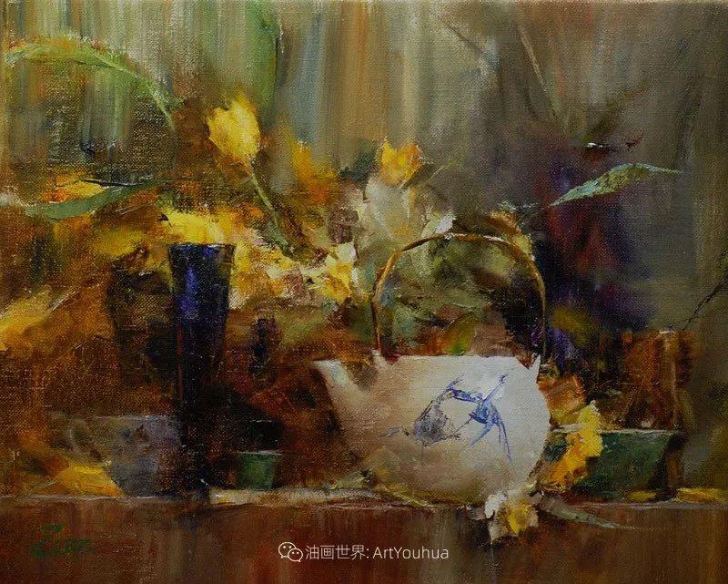 花与色的盛宴,印象派花草光影闪烁,生机盎然!插图191
