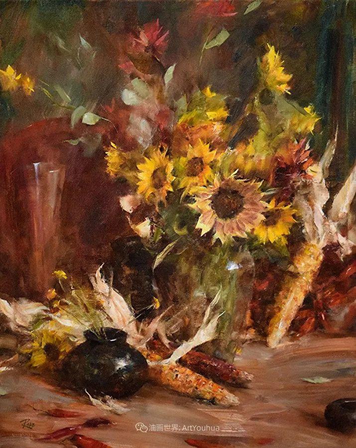 花与色的盛宴,印象派花草光影闪烁,生机盎然!插图193