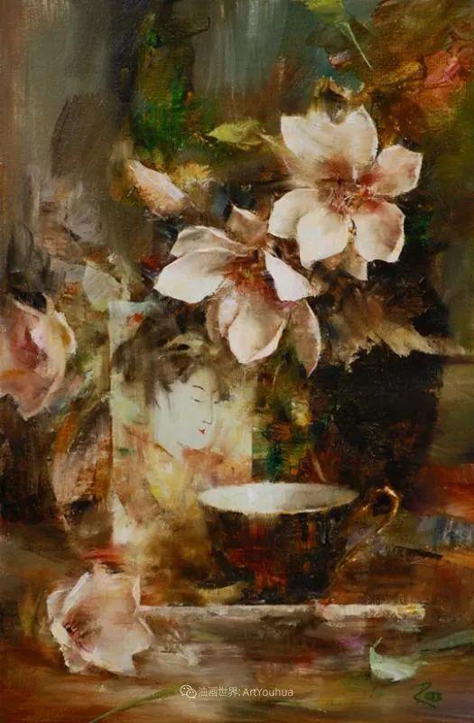 花与色的盛宴,印象派花草光影闪烁,生机盎然!插图195