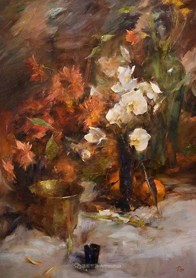 花与色的盛宴,印象派花草光影闪烁,生机盎然!插图197