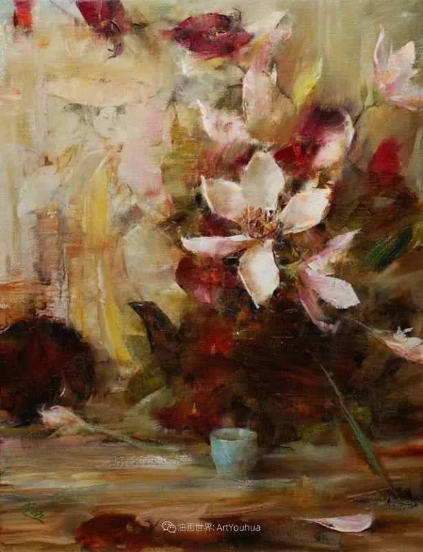 花与色的盛宴,印象派花草光影闪烁,生机盎然!插图203