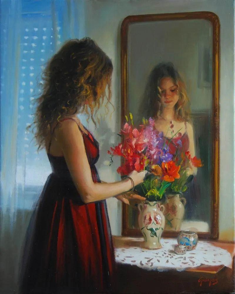 具象风格,匈牙利画家拉斯洛·古里亚斯插图5