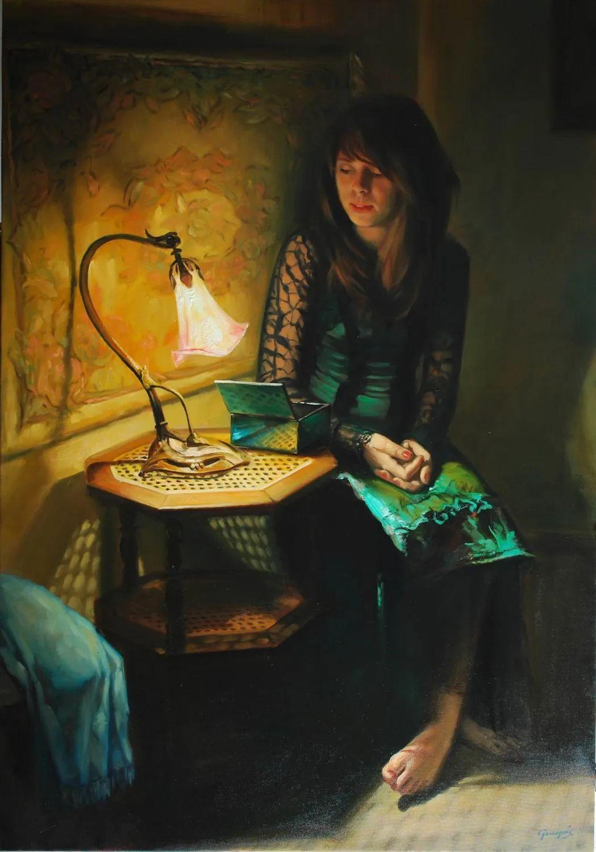 具象风格,匈牙利画家拉斯洛·古里亚斯插图9