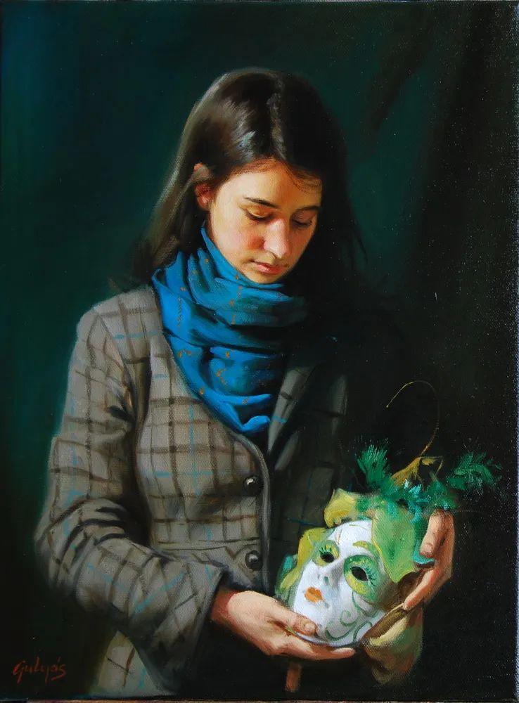具象风格,匈牙利画家拉斯洛·古里亚斯插图13