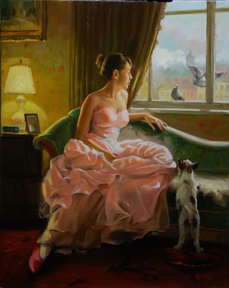 具象风格,匈牙利画家拉斯洛·古里亚斯插图15