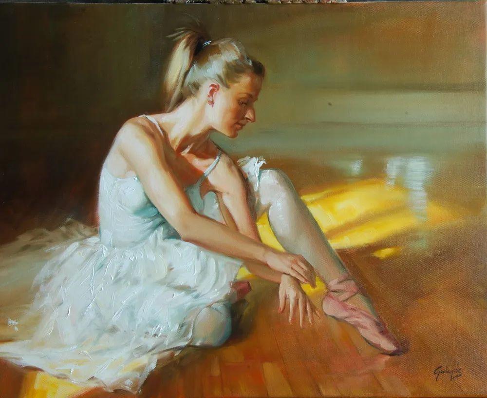 具象风格,匈牙利画家拉斯洛·古里亚斯插图17