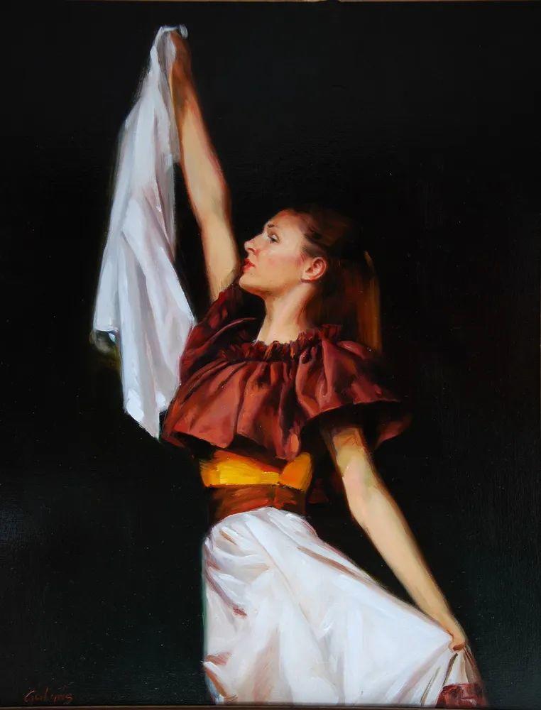 具象风格,匈牙利画家拉斯洛·古里亚斯插图21