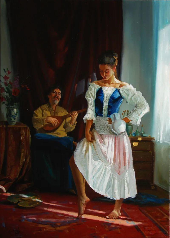 具象风格,匈牙利画家拉斯洛·古里亚斯插图25