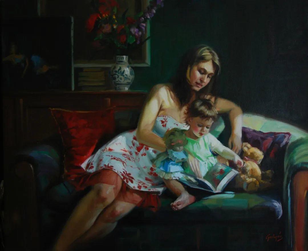 具象风格,匈牙利画家拉斯洛·古里亚斯插图29
