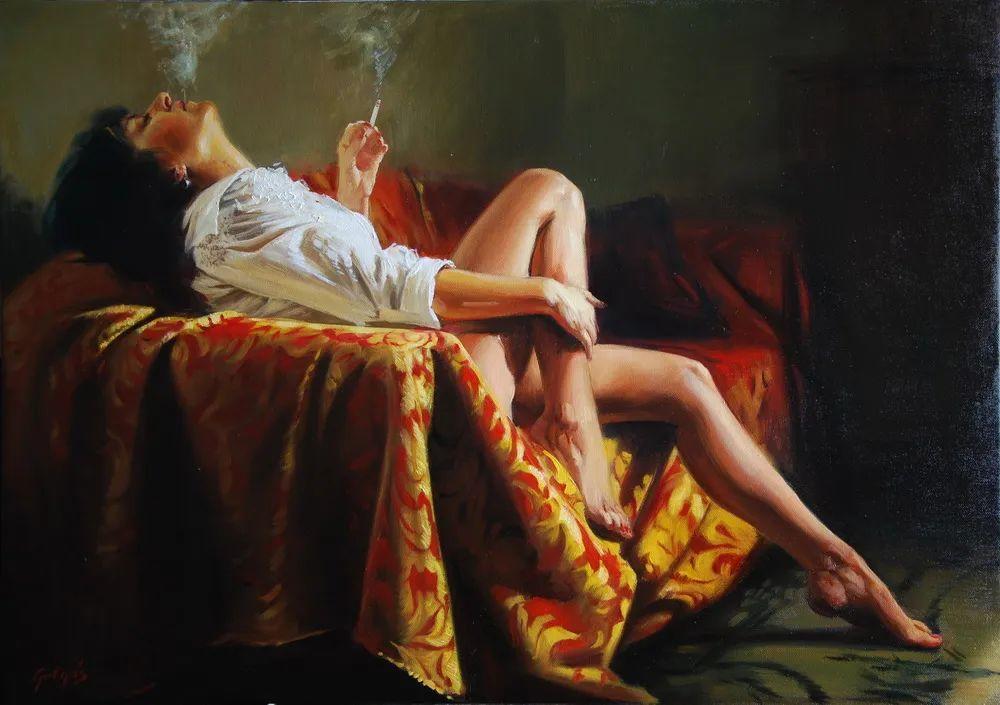 具象风格,匈牙利画家拉斯洛·古里亚斯插图35