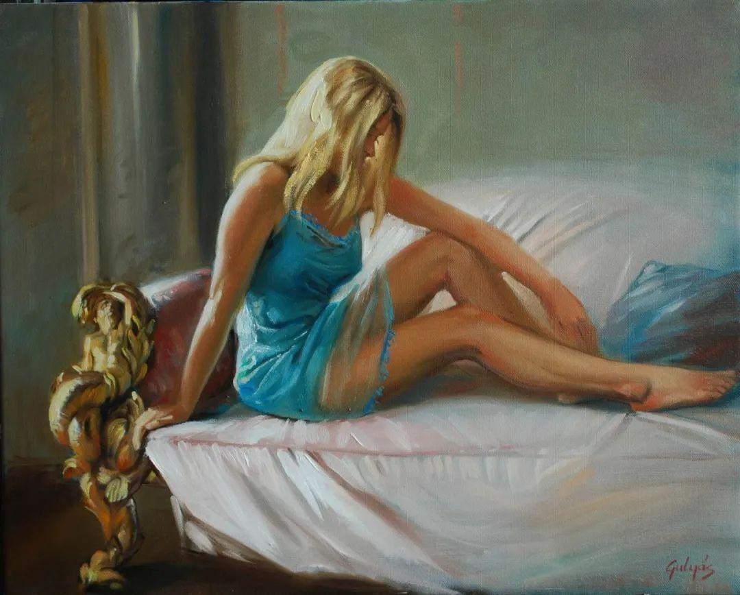 具象风格,匈牙利画家拉斯洛·古里亚斯插图37