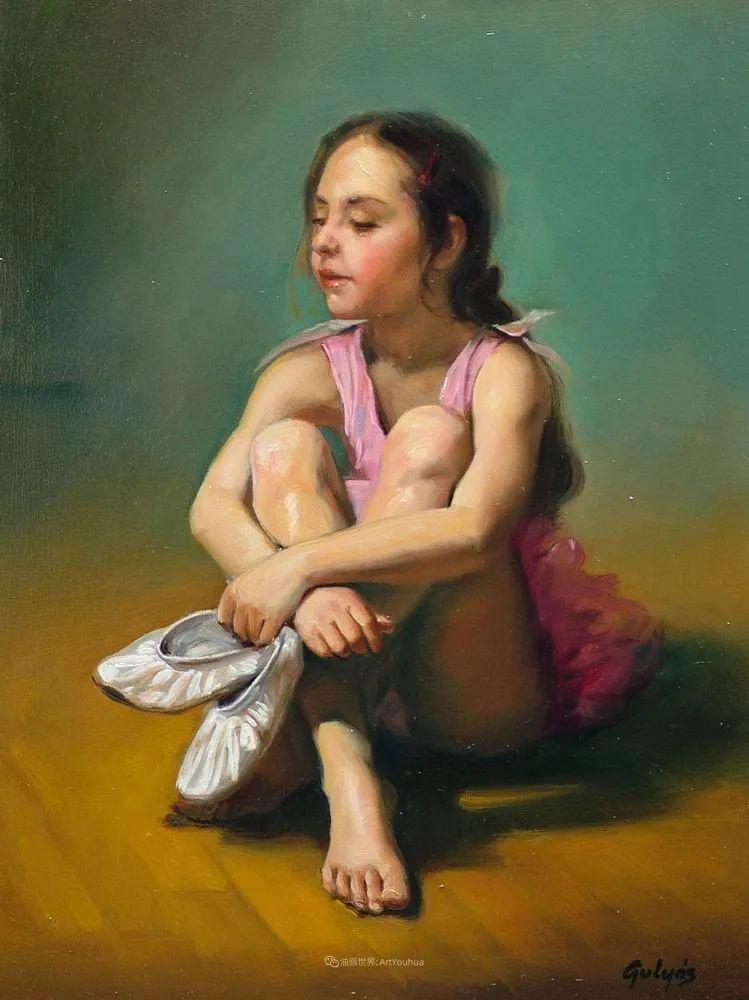 具象风格,匈牙利画家拉斯洛·古里亚斯插图39