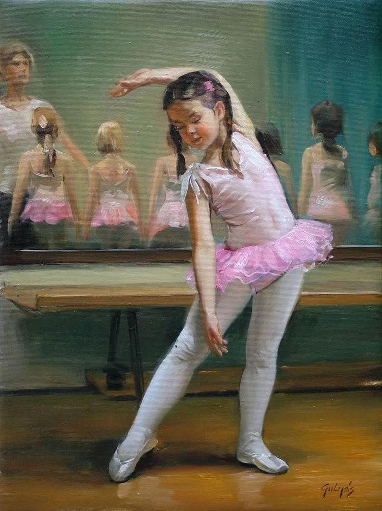 具象风格,匈牙利画家拉斯洛·古里亚斯插图41